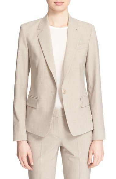 Theory 'Gabe' Stretch Wool Blazer available at #Nordstrom