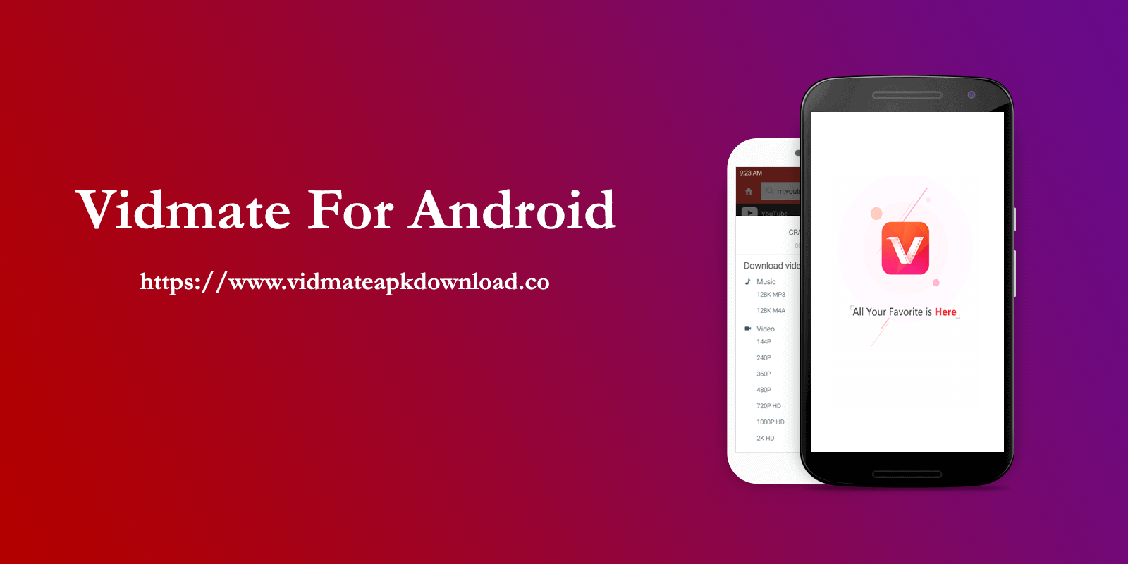 Download Free Vidmate APK App, Mobile app, Android