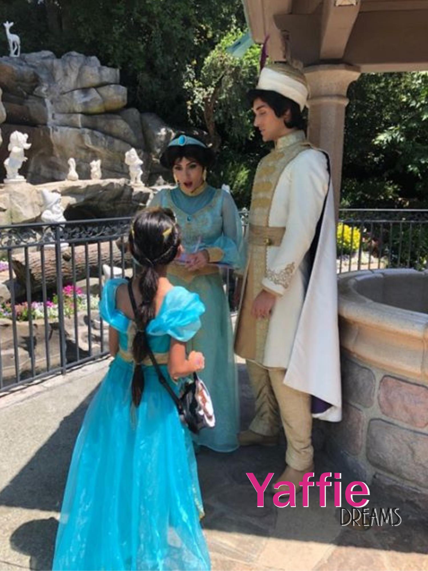 Princess Jasmine costume by YAFFIE DREAMS store Aladdin 2019