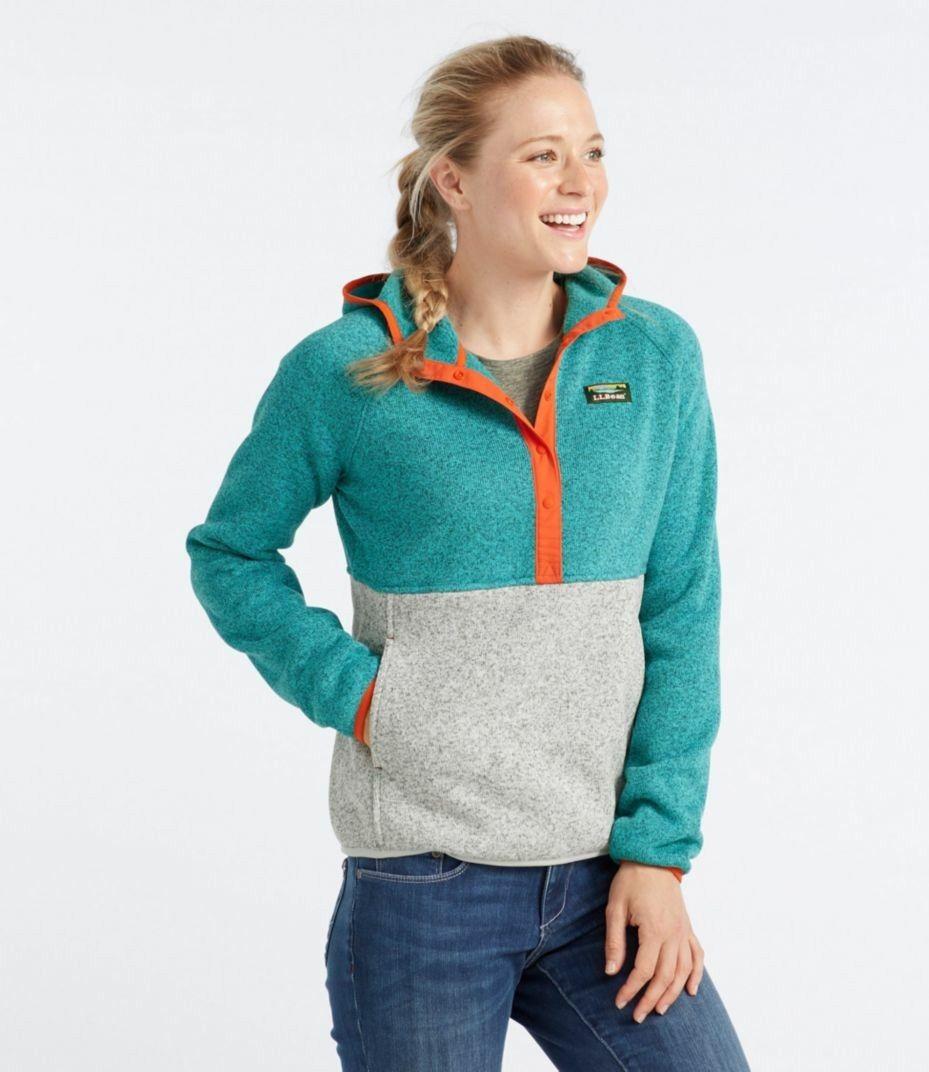 f054ab3e3d84b L.L.Bean Sweater Fleece Hoodie | Portfolio | Pullover, Sweaters ...