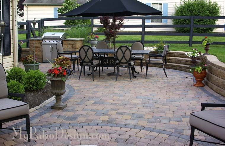 another sunken patio idea for outside my sunroom... | sunroom ... - Sunroom Patio Designs