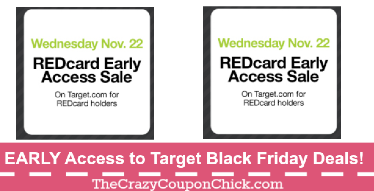 Attention Target Redcard Holders Early Access To Black Friday