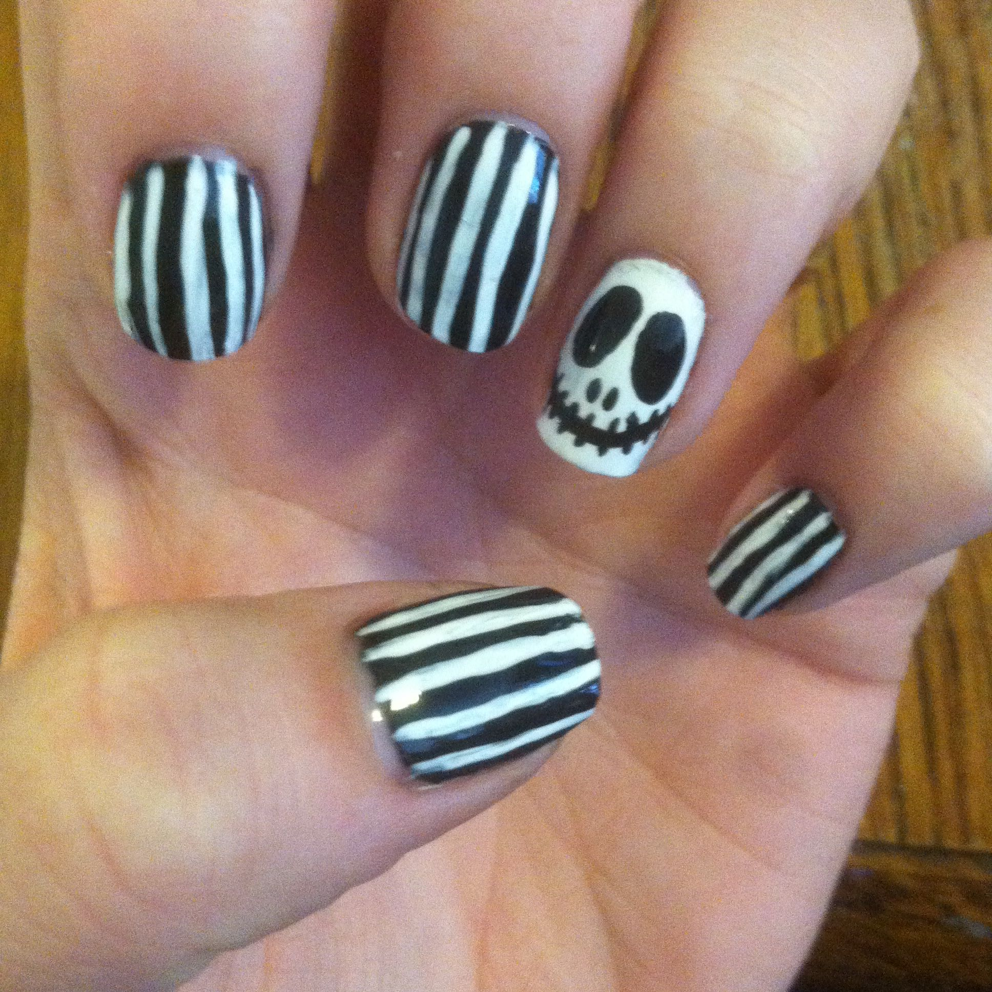 Halloween i got these off youtube by cutepolish