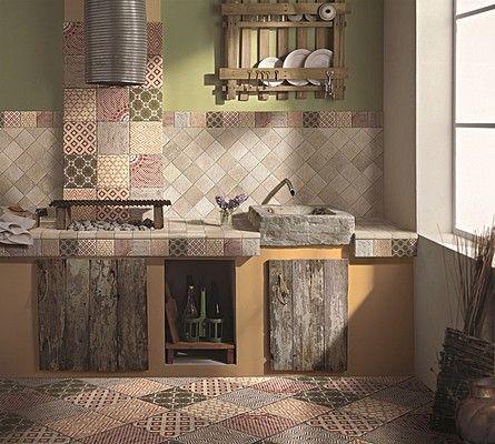 Risultati immagini per piastrelle cucina provenzale for Immagini per cucina