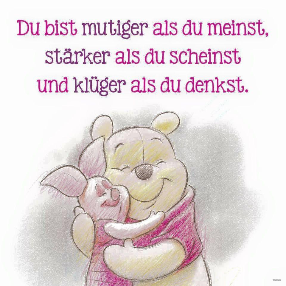 Pin von joleen marie isabella auf winnie the pooh - Disney zitate deutsch ...