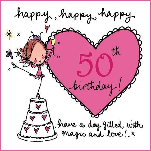 Happy happy happy 50th birthday Happy birthday – Birthday Greetings for 50th Birthday