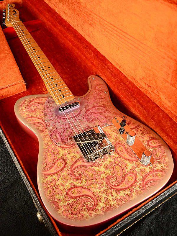 fender 1968 pink paisley telecaster paisley red vintage reverb guitar in 2019. Black Bedroom Furniture Sets. Home Design Ideas