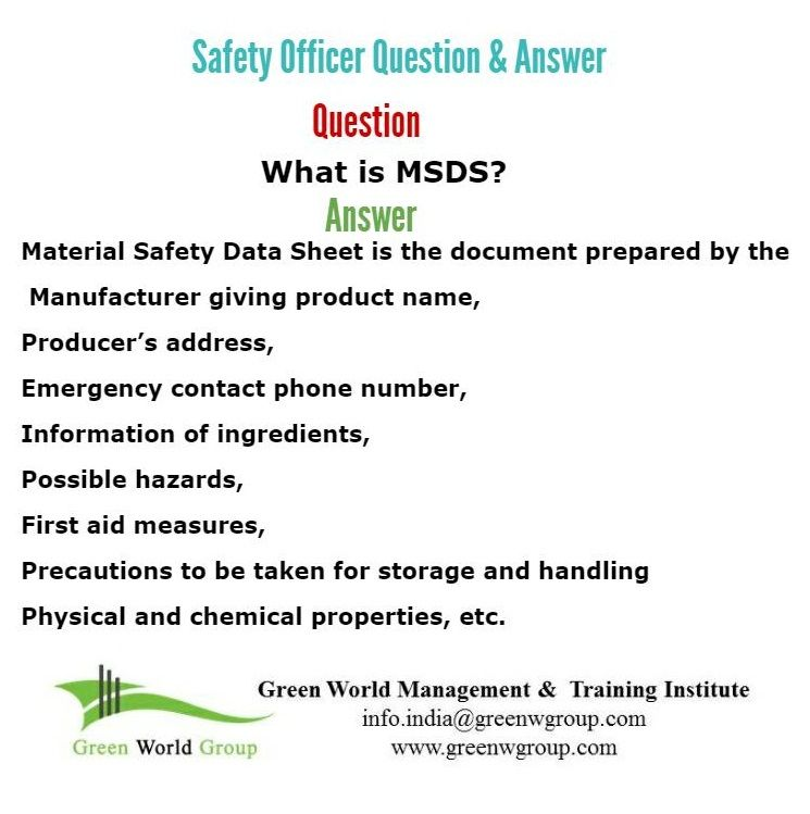 HSE Question \ Answer http\/\/greenworldsaudi\/riyadh\/ Nebosh - manual handling risk assessment
