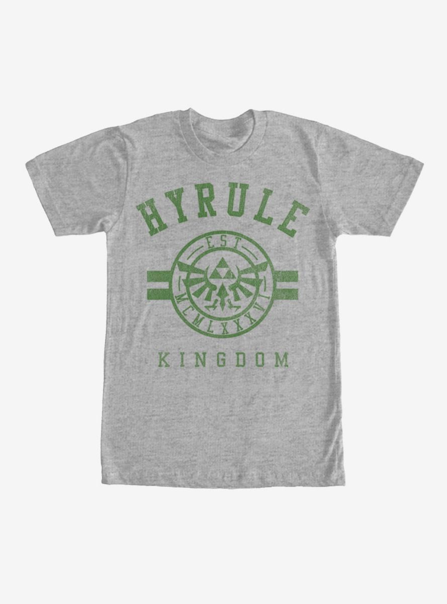 dc0e640a2 Nintendo Legend of Zelda Hyrule Kingdom T-Shirt in 2019   Products ...