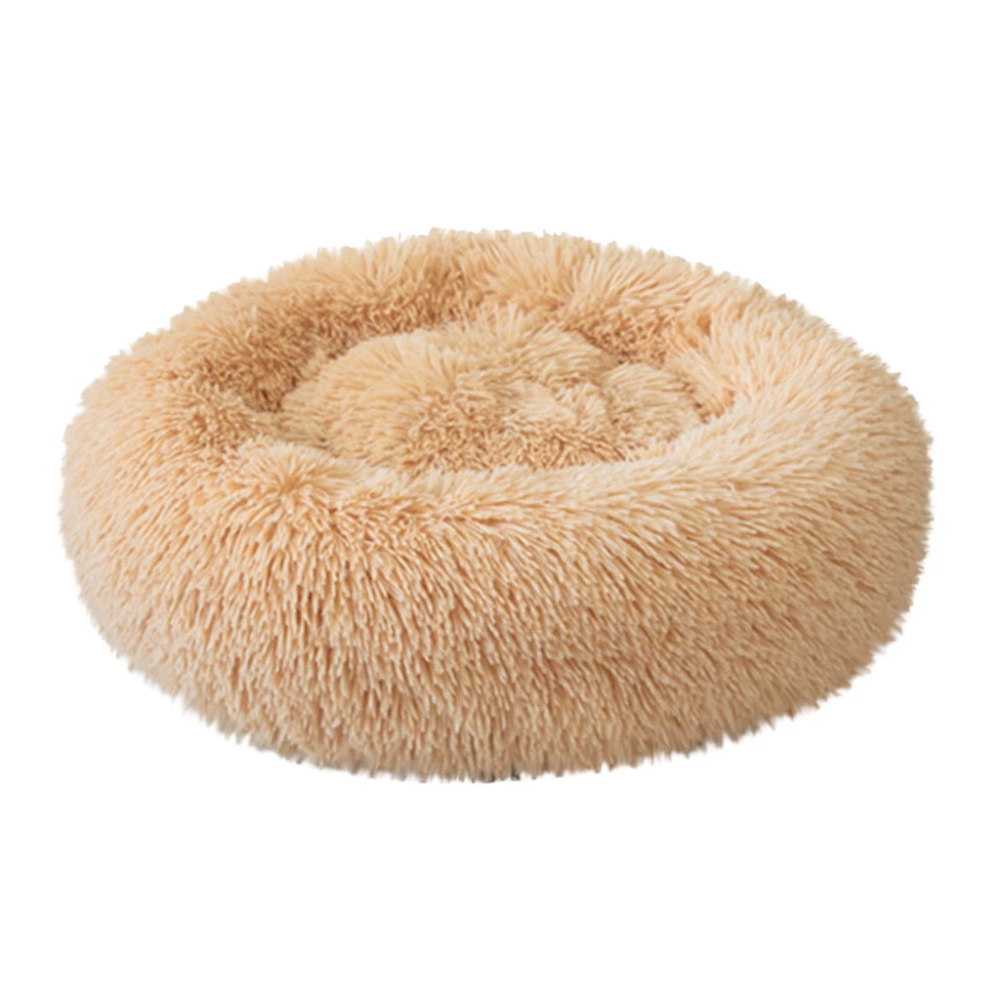 Dog Cat Plush Kennel Calming Bed (With images)