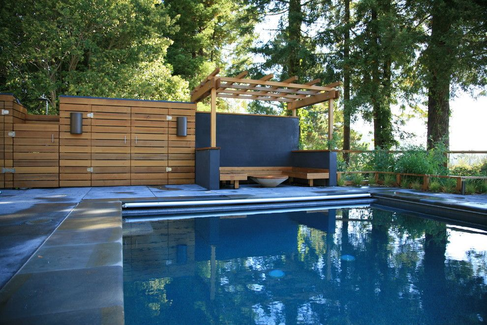 Get Influenced Above Ground Pool Concepts Modern Pools Modern Pergola Designs Modern Pergola