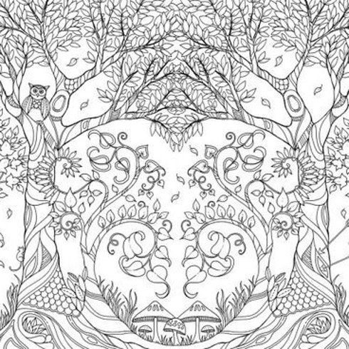 17 Colouring Books That Every Grown Up Needs Forest Coloring Book Enchanted Forest Coloring Book Enchanted Forest Coloring