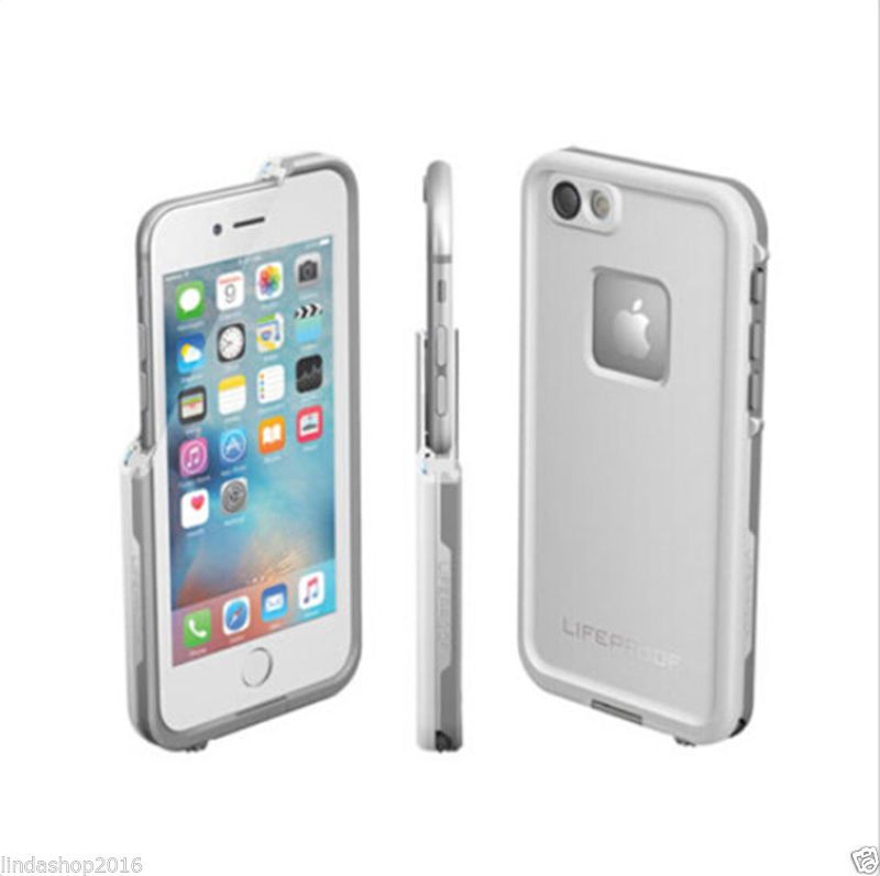 new concept 948aa 96e24 New Lifeproof FRE Waterproof Case For iPhone 6/6S Avalanche White ...