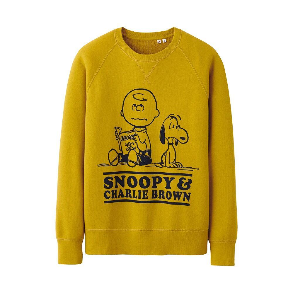 Men's sweater @UNIQLO | Peanuts | Pinterest | Uniqlo and Snoopy ...