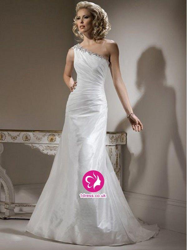 one shoulder wedding dress uk - Google Search   Wedding Dresses ...