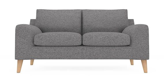 buy astrid medium sofa 3 seats tweedy weave mid grey low retro tapered light from the next. Black Bedroom Furniture Sets. Home Design Ideas