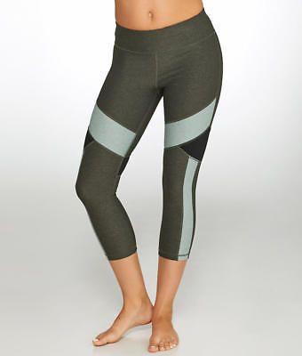 Calvin Klein Colorblock Crop Compression Leggings Activewear - Women's #PF7P9209