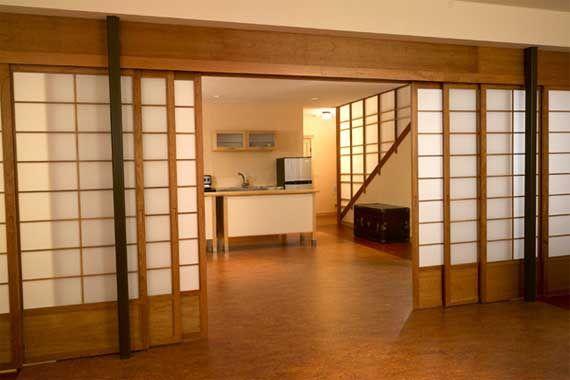Japanese Screen Room Divider Gallery for Tiny House doors sliding