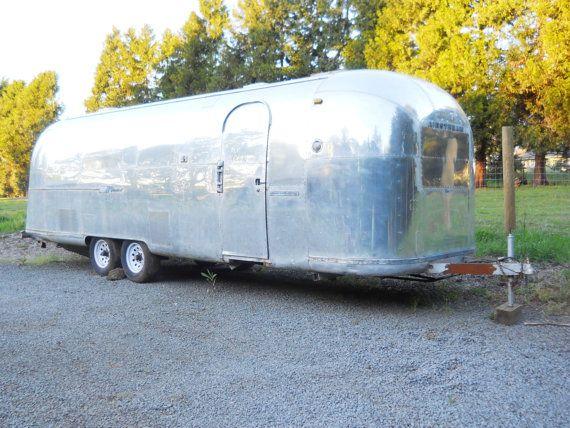 Original 1966 Vintage Airstream Land Yaht Silver Bullet