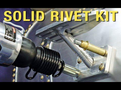 Solid Rivet Kit - Aircraft Grade Rivets For Your Car - Custom Metal Fabr...