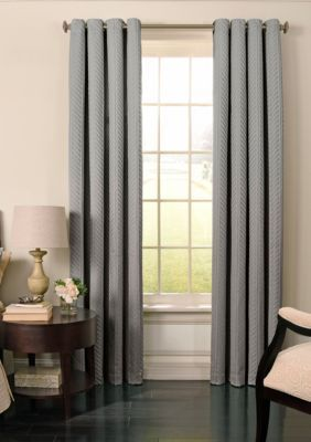 Beautyrest Men S Malbrouk Blackout Curtain 52 In X 84 Smoke 94