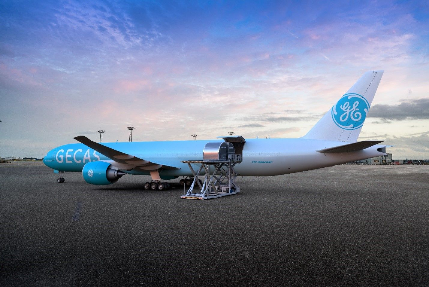 Gecas Revealed As Launch Customer For B777f Conversion Programme Air Cargo Cargo Aircraft Product Launch