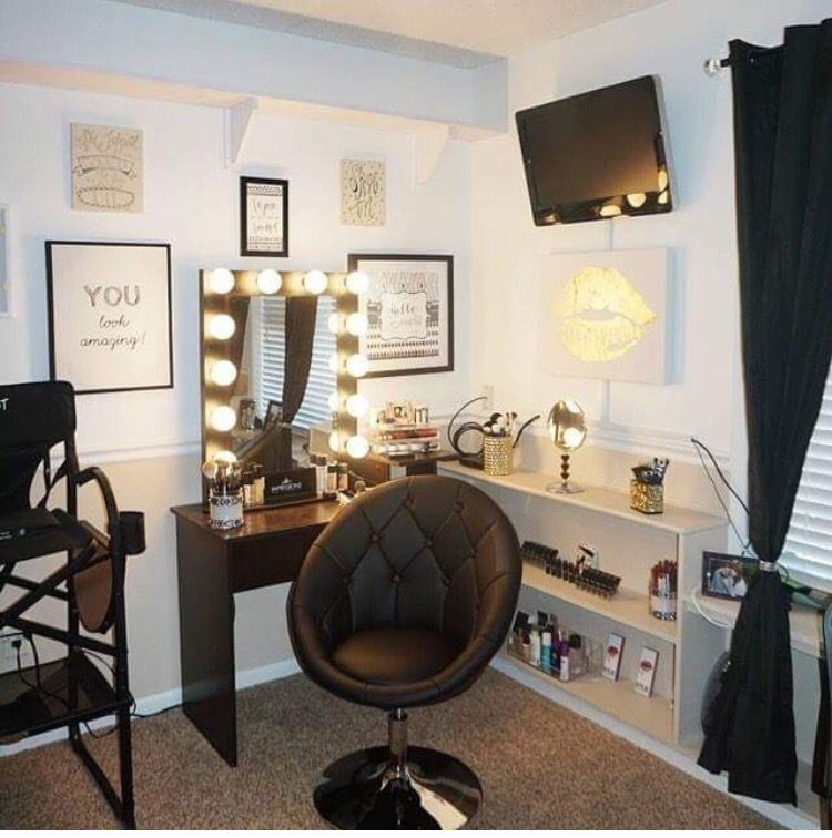 Simply Beauty Makeup Room, Love It | Vanity Ideas | Pinterest
