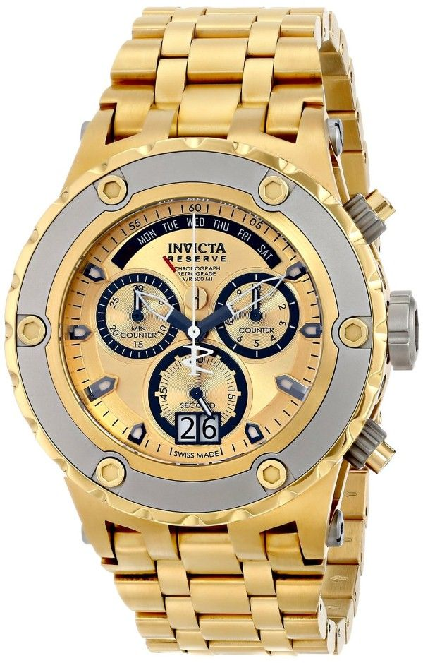 d664b45255d Gold watches   Gold watches for men Invicta