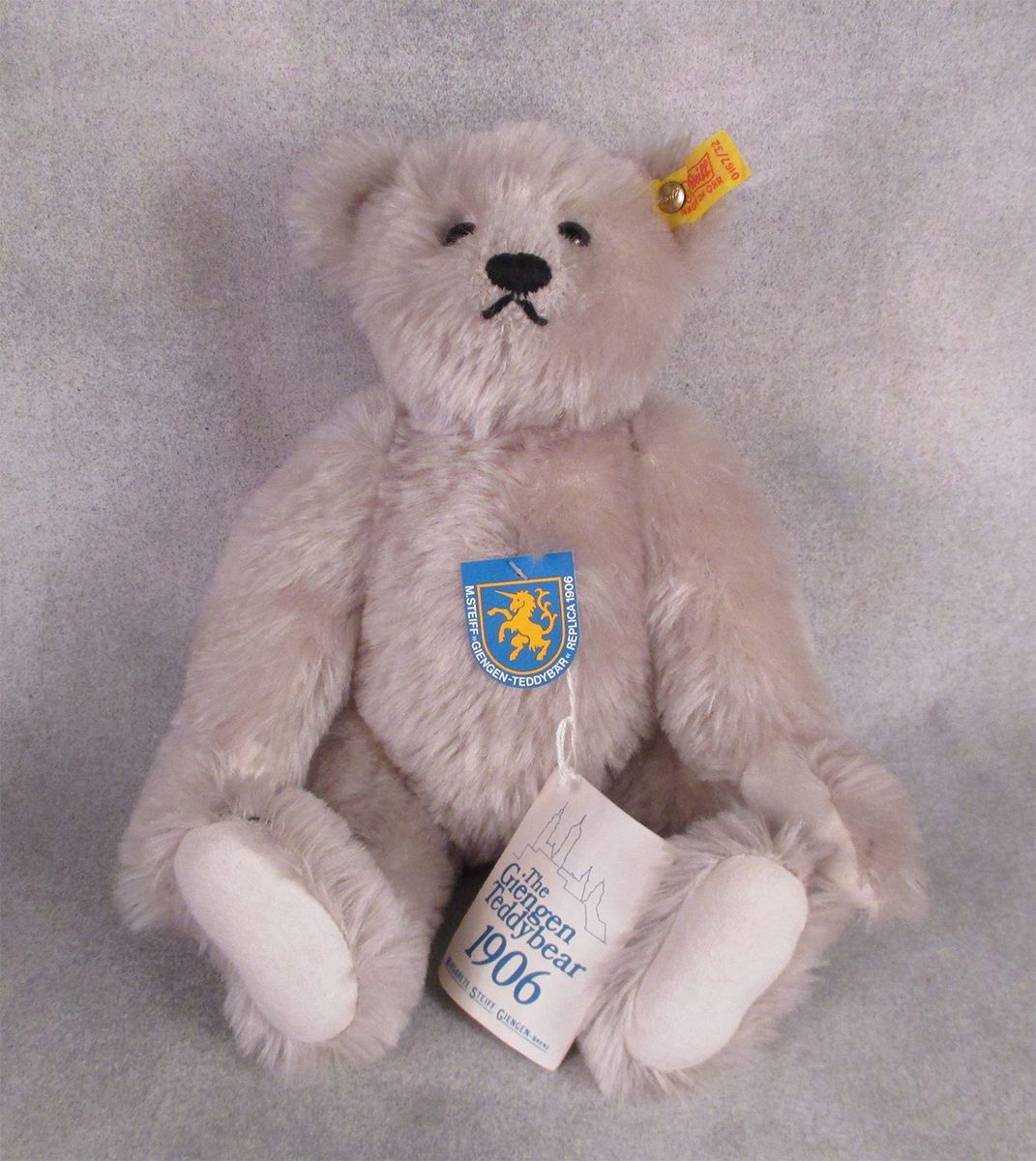 "#Steiff 1985 giengen 12"" #teddy bear 1906 vintage new 0167/32 #valentine,  View more on the LINK: 	http://www.zeppy.io/product/gb/2/112277626651/"