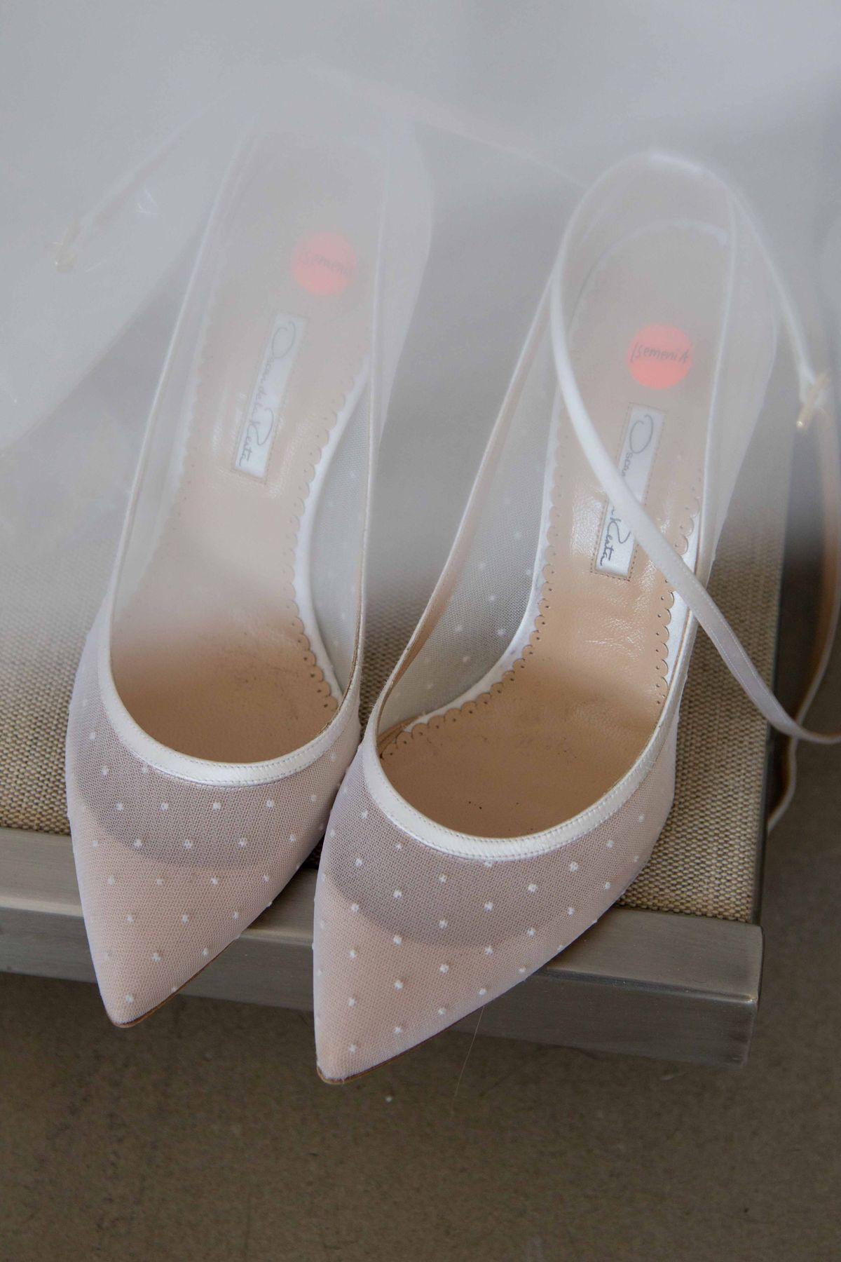 Oscar de la renta wedding shoes fashion pinterest oscar de la