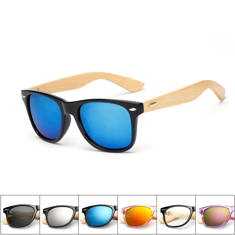 e65177d61e860 24 Colors Brands Men Sunglasses Bamboo Sun Glasses Women Retro Sunglasses  Wood Sunglasses Uv400 Eyewear Eyeglasses Oculos De Sol  Affiliate
