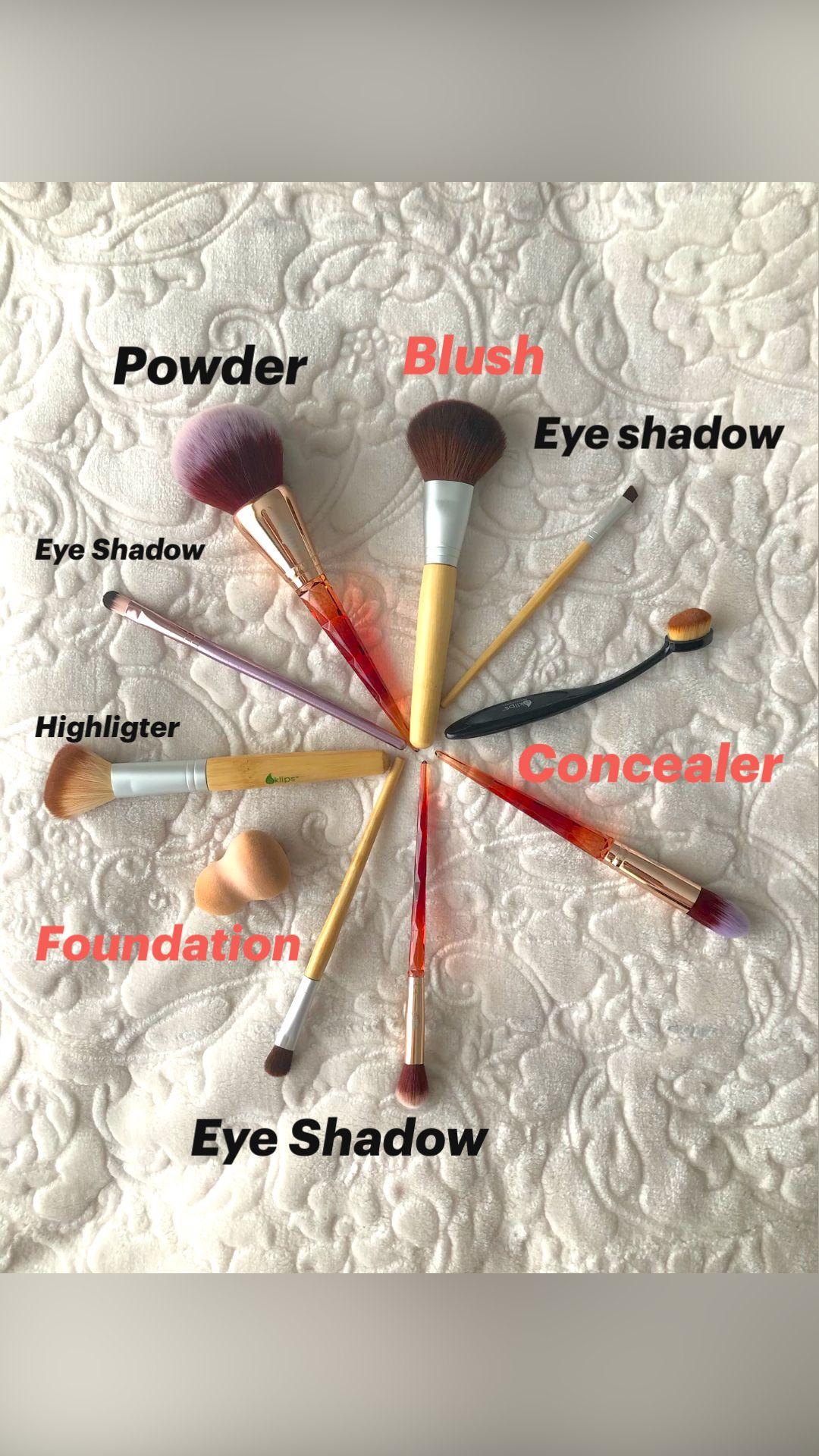Makeup Brushes 🎨