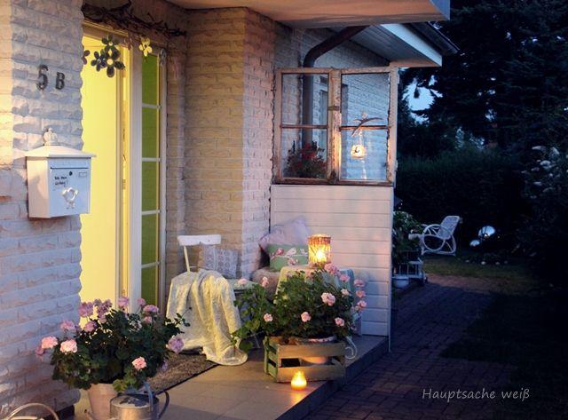 Coole Idee mit dem alten Fenster :-)