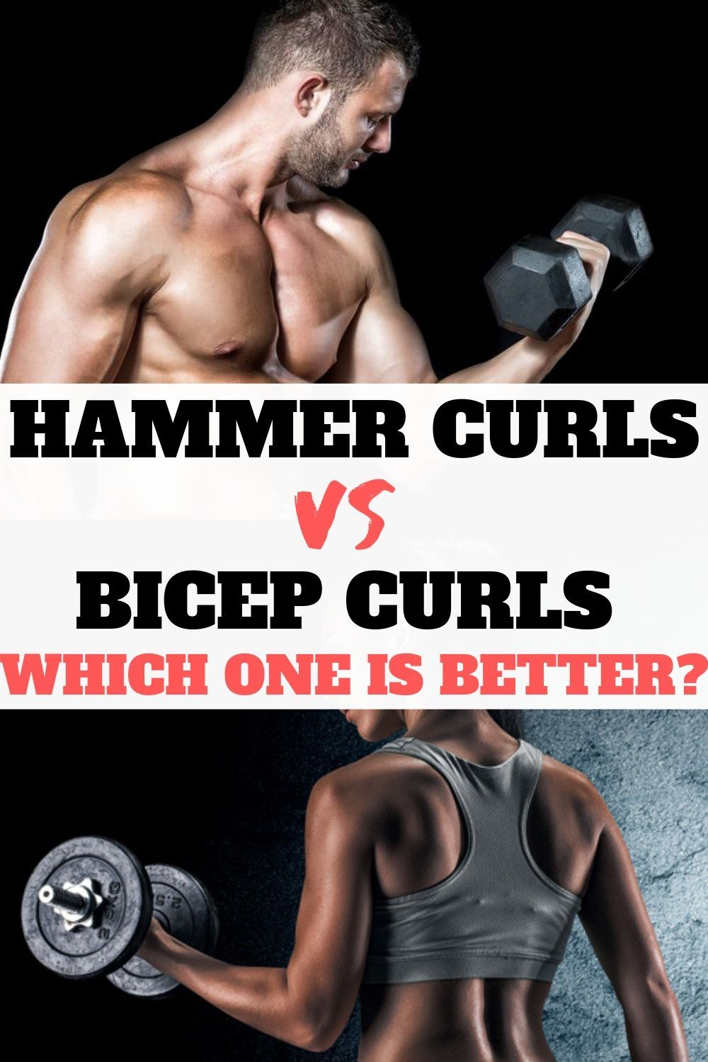 Hammer Curls and Bicep Curls exercises are very effective in building your arms and increasing your...