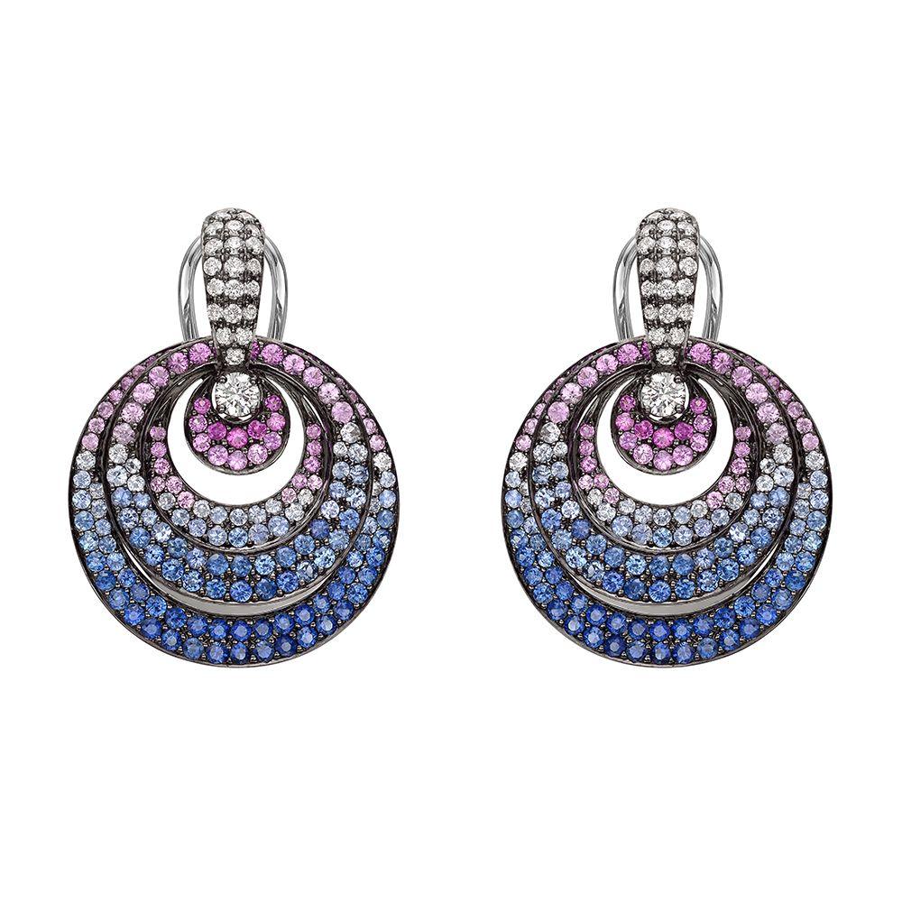 Betteridge collection small multicolored sapphire u diamond udoor