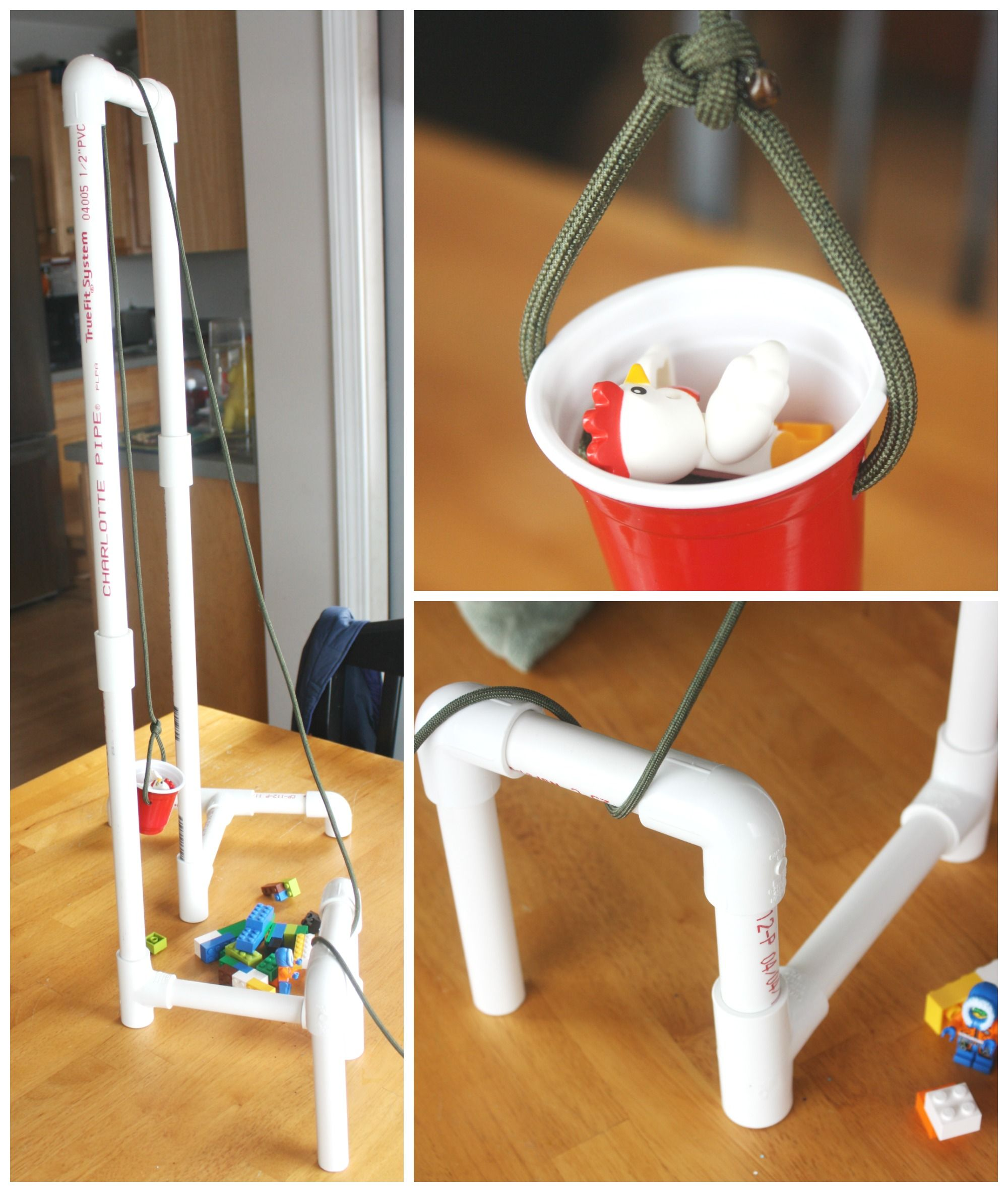 PVC Pipe Pulley for Kids Simple Machines STEM Activity ...