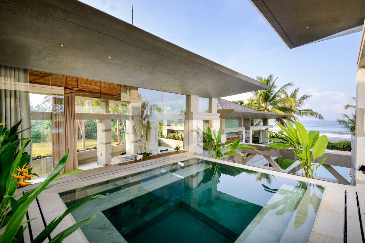 5 Bedroom Beachfront Villa For Sale In Tabanan Bali Luxury Villas Villa Design Luxury Villa
