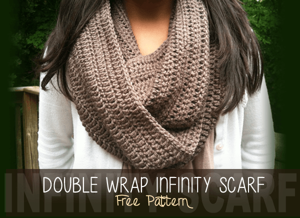 Double Wrap Infinity Scarf ~ Rebecca Langford