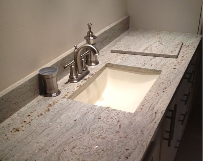 granite bathroom countertop | bathroom counertops | bathroom