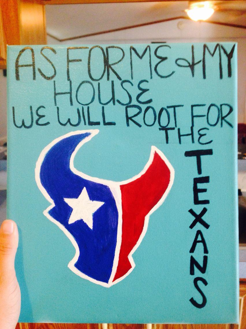 #texans #football #canvas #diy