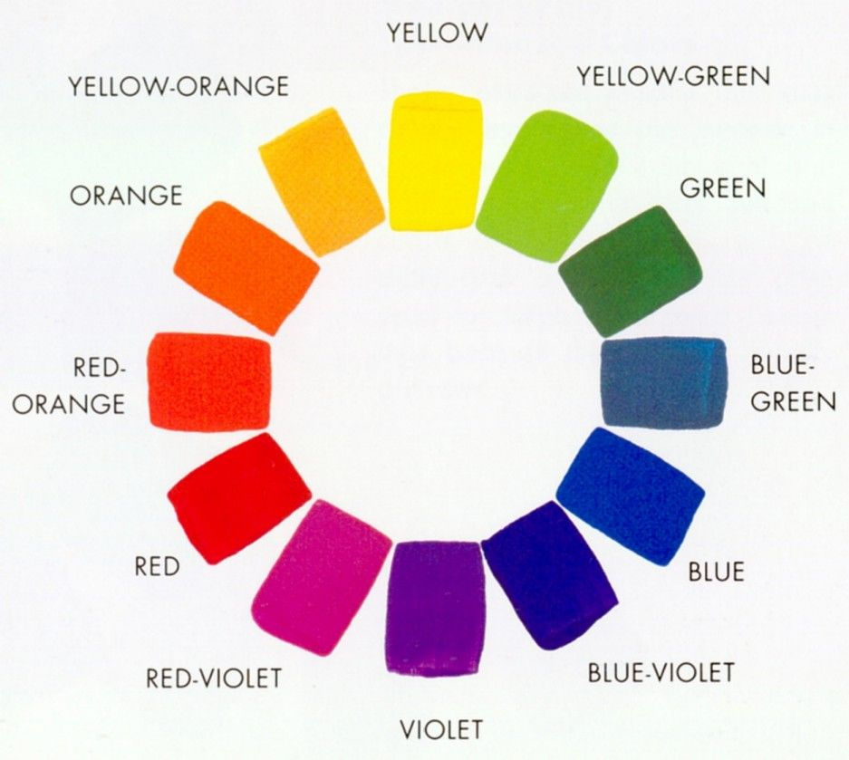 Color Wheel 12 Colors Interesting Did You Know That Color Enhances Chi  Bright Bold Energizing .