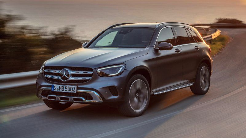 2020 Mercedes Benz Glc Class Refresh Adds New Tech Engine With
