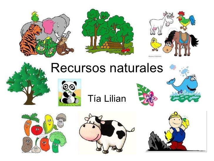 Recursos Naturales Spanish Lessons For Kids Activities For Kids Spanish Lessons