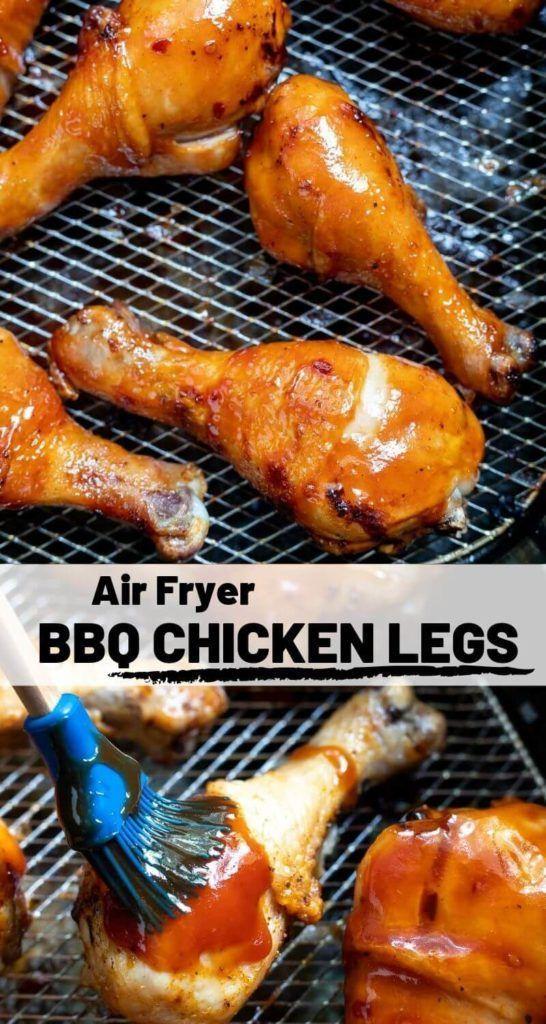 Air Fryer Bbq Chicken Drumsticks Recipe in 2020