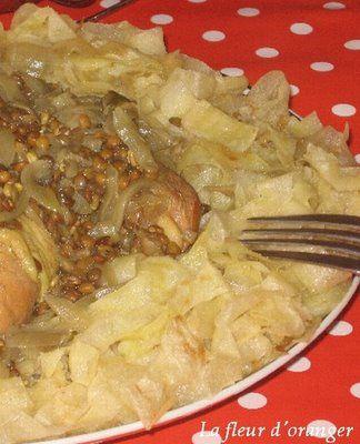rfissa au poulet : recette de la cuisine marocaine traditionnelle