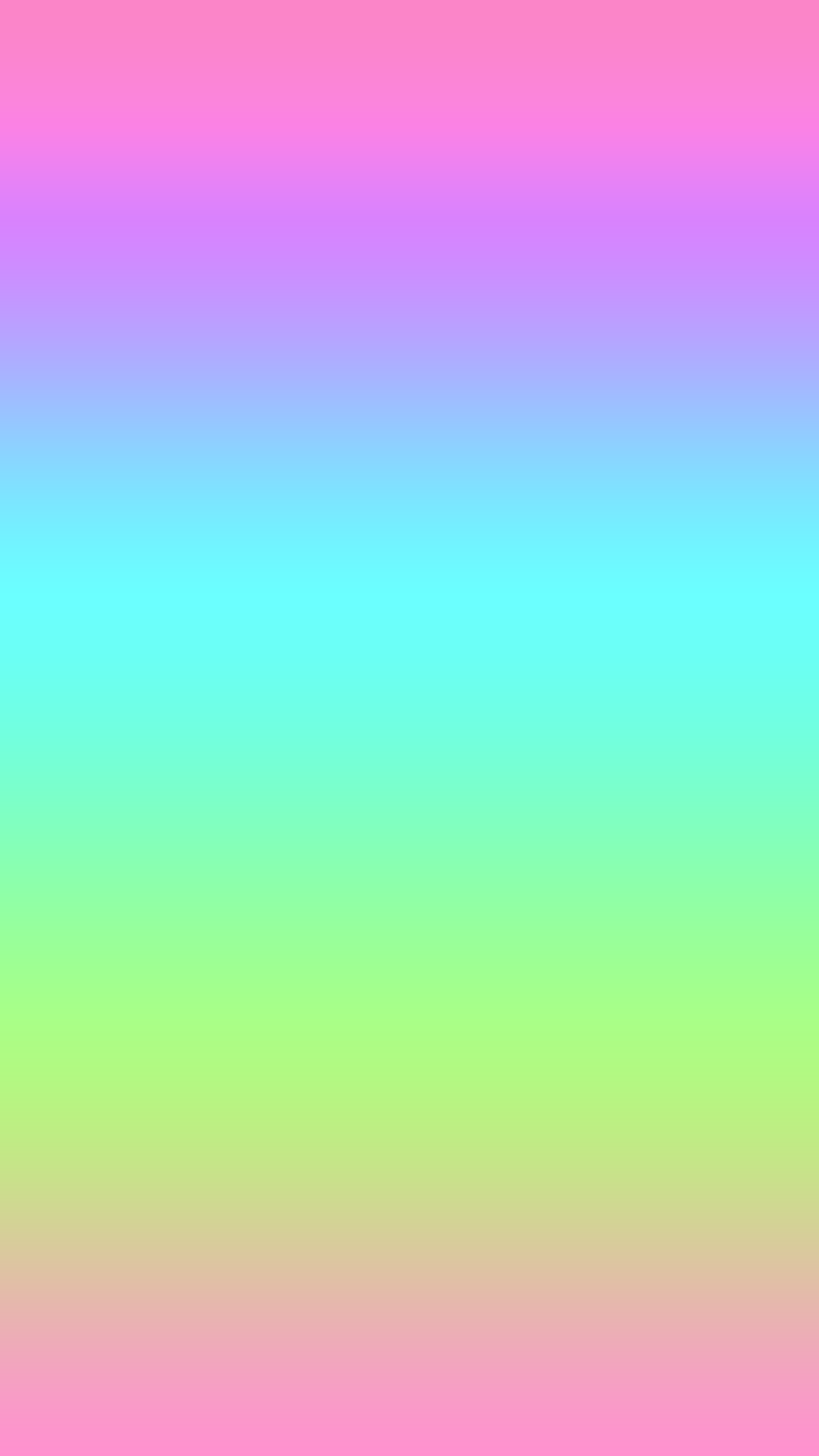 Gradient Ombre Pink Blue Purple Green Wallpaper Hd Iphone
