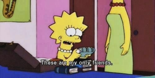 The Simpsons, the books
