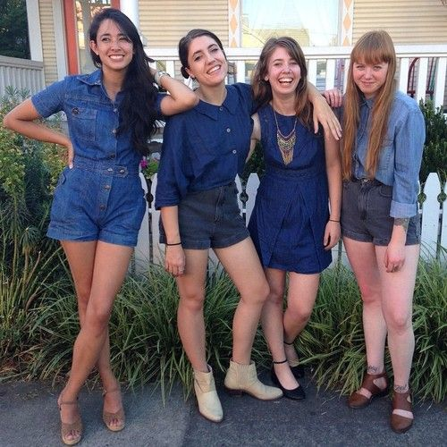 What can we say? We love a good denim day  Buffalo Exchange