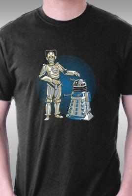 Cyber3PO & R2Dalek