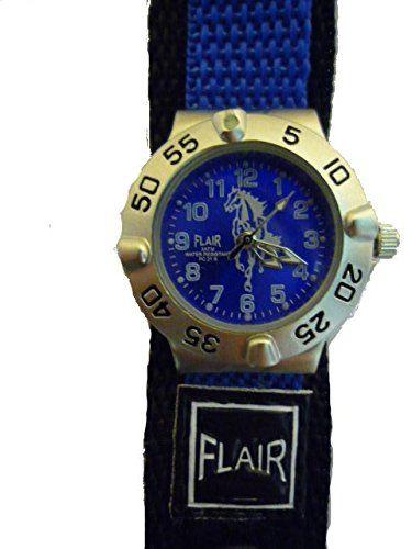Kinderuhr Uhr Kinder Armbanduhr Pferd Pferde Stoffarmband Kinderland - http://uhr.haus/tavolino/kinderuhr-uhr-kinder-armbanduhr-pferd-pferde-2